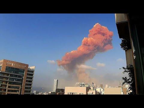 Ισχυρή έκρηξη στο λιμάνι της Βηρυτού – Αισθητή και στην Κύπρο…