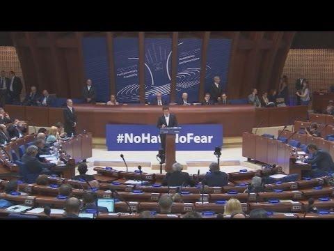 Ομιλία του A.Tσίπρα στην Ολομέλεια του Συμβουλίου της Ευρώπης