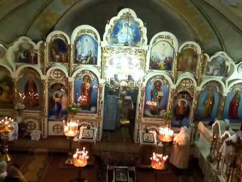 Святкове богослужіння на Великдень у храмі Святителя Тихона м. Гуляйполе
