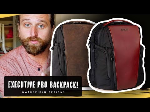 WATERFIELD PRO EXECUTIVE BACKPACK!
