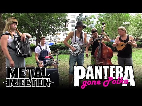 "PANTERA ""Cemetery Gates"" Gone Polka By STEVE 'N' SEAGULLS 