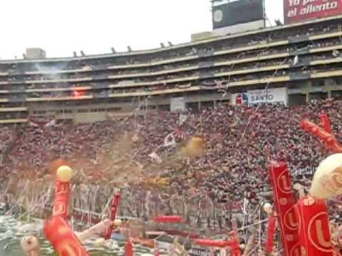 Video - EL MEJOR RECIBIMIENTO DEL FUTBOL PERUANO ( SALE UNIVERSITARIO) TRINCHERA NORTE - Trinchera Norte - Universitario de Deportes - Peru