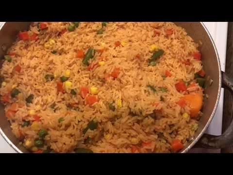 Yellow Rice With Mixed Vegetables