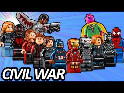 Top 13 Marvel Avengers Lego Minifigures...