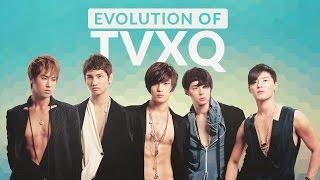 The Evolution of TVXQ (동방신기) - Tribute to K-POP LEGENDS