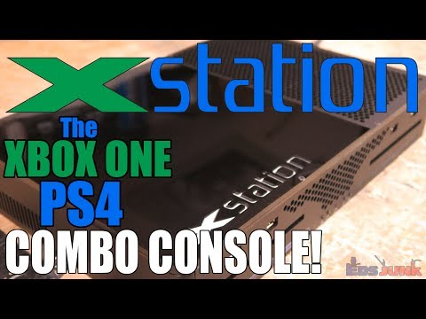 Xstation - The XBOX ONE / PS4 Combo Console!