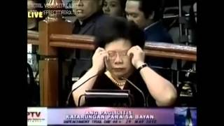 Santiago Philippines  city photo : Senator Miriam Defensor Santiago's insights about corruption in the Philippines