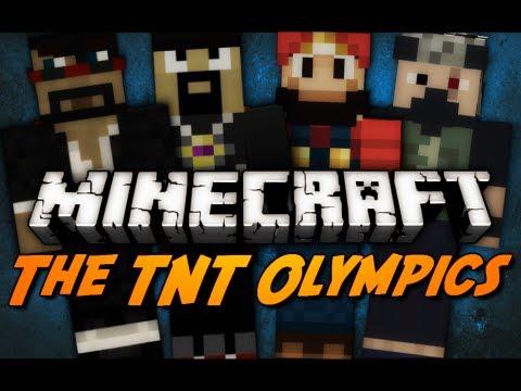 Minecraft: TNT Olympics - Day 1 - AntVenom POV