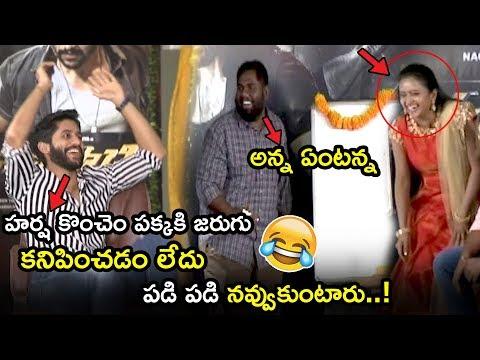 Funny movies - Naga Chaitanya Making Hilarious Fun With Viva Harsha  Savyasachi Movie Team Funny Interview  TWB