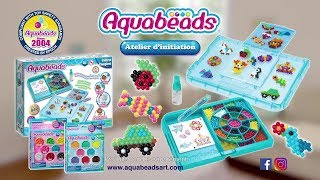 Atelier d'initiation Aquabeads - Pub TV