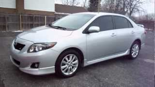 2009 Toyota Corolla S With 52,298 Miles