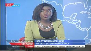 Former President Daniel Toroitich Arap Moi condones with the family of the Late Ole Ntimama SUBSCRIBE to our YouTube channel for more great videos: https://w...