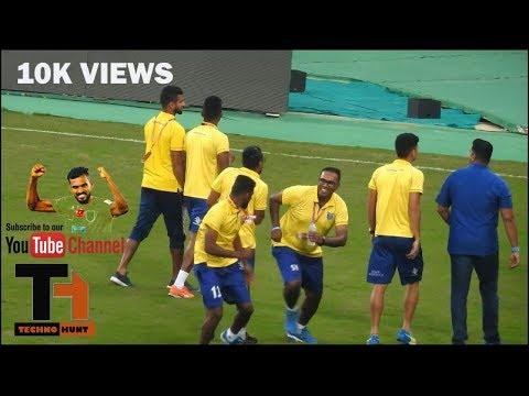 ISL Live C K Vineeth and team fight
