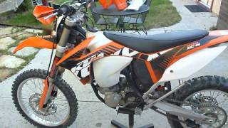 4. Test Update on 2012 KTM 500 xc-w