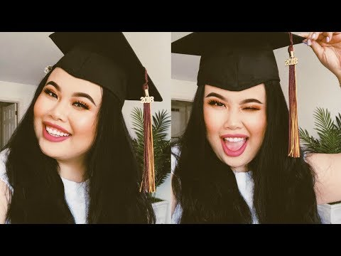 CHEAP + EASY + SWEAT PROOF + SIMPLE GRADUATION MAKEUP TUTORIAL!