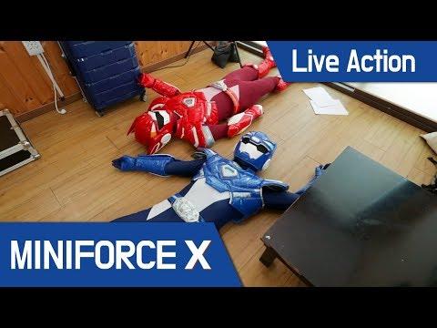 [MiniForceX] Live Action - Volt&Sammy 'Escape the room' Adventure!!