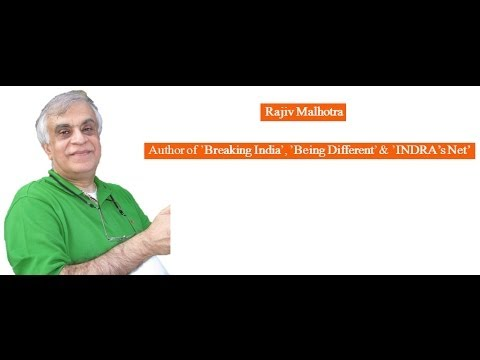 Slow Death of INDIA and Hindus: Rajiv Malhotra