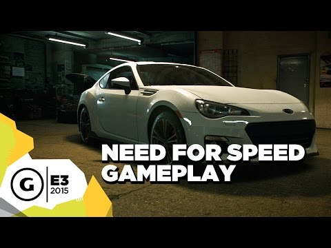 need for speed gameplay e3 2015 trailer!!