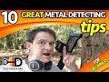 10 Great Metal Detecting Tips For Beginners