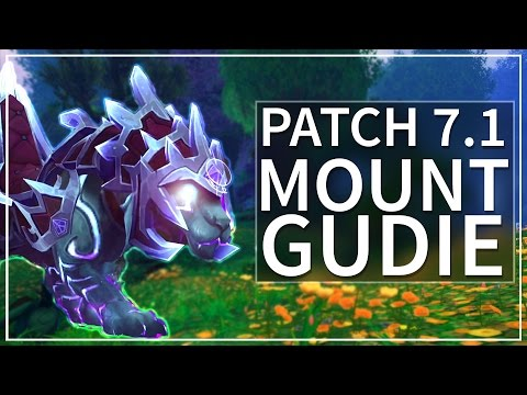 How To Get the WoW Legion Patch 7.1 Mounts! [Guide] (видео)