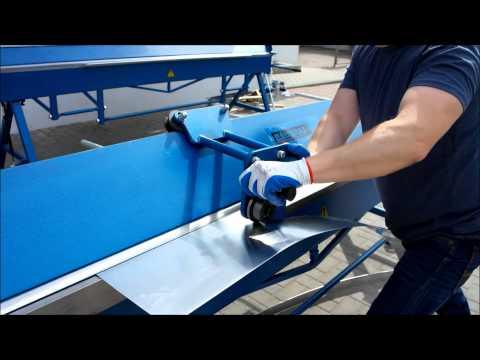 Folding Machines for sheet metal Baubras zgr3140 2017-Photo 2