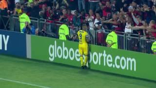 Melhores momentos de Flamengo 2 x 1 Coritiba pela 16ª rodada do Campeonato Brasileiro