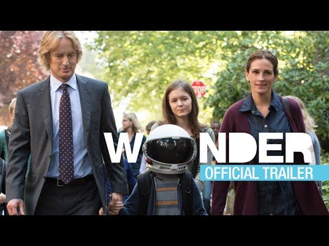 Wonder Official Trailer