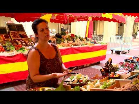 At the heart of La Condamine Market