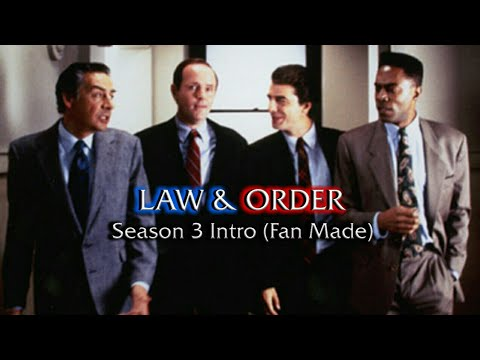 Law & Order: Season 3 Intro (Fan Made)