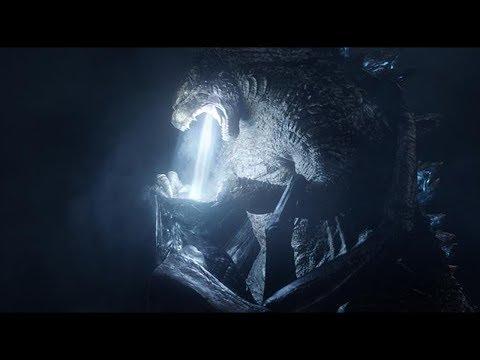Godzilla Kills Male & Female MUTOs Scene ¦ Godzilla 2014 Movie Clip 4K +Subtitles