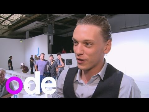 Jamie Campbell Bower 'gets emotional watching girlfriend walk the catwalk for Topshop'