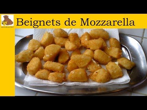 Les beignets de mozzarella