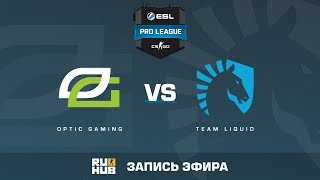 OpTic Gaming vs. Team Liquid - ESL Pro League S5 - de_nuke [ceh9, yxo]