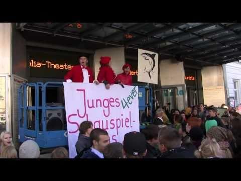 """Das Schauspielhaus – ein himmlischer Platz – Protestworkshop für Kinder und Jugendliche zur """"Stimmbildung im öffentlichen Raum"""""""