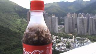 Como enfriar una Coca Cola en sólo un segundo!