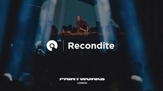 Recondite - Live @ Melt Festival x Printworks London 2017