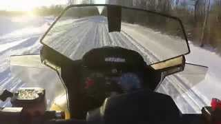 9. 2009 Skidoo 500ss top speed run