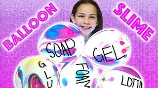 Video Making Slime With GIANT Balloons! GIANT Slime Balloon Tutorial MP3, 3GP, MP4, WEBM, AVI, FLV Juni 2019