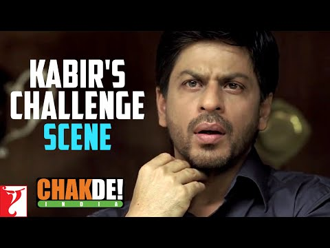 Video Scene: Kabir's Challenge | Chak De India | Shah Rukh Khan download in MP3, 3GP, MP4, WEBM, AVI, FLV January 2017