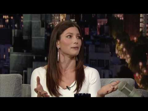 Jessica Biel   Late Show With David Letterman December 7, 2011