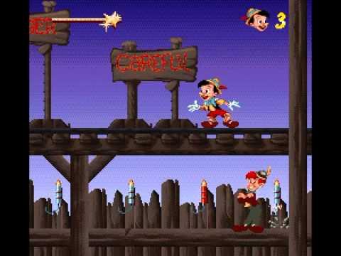 pinocchio game boy rom