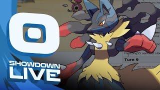 Pokemon OR/AS! UBERS Showdown Live w/PokeaimMD! - Ep 56: MEGA LUCARIO by PokeaimMD