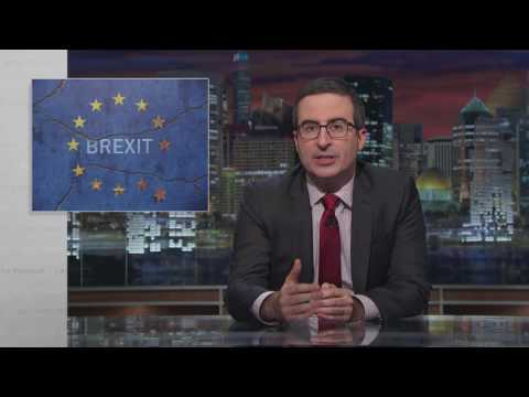 John Oliver Responds to the Brexit Decision