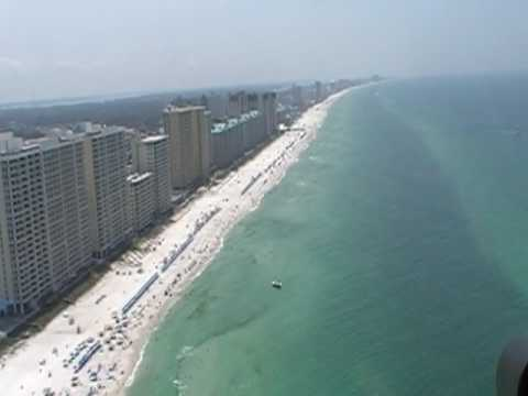 panama city - Video I made June 2009 while on a 10 mile helicopter tour with Panhandle Helicopter tours in Panama City Beach.