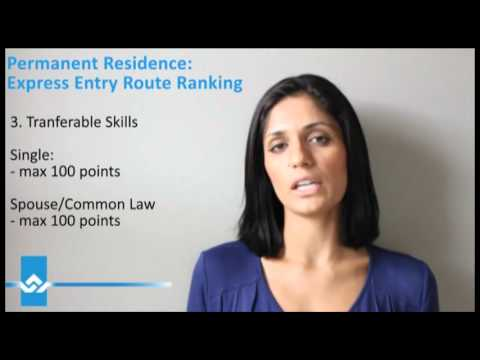 Express Entry Route Comprehensive Ranking System Video