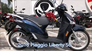 2. 2018 Piaggio Liberty 50 at Euro Cycles of Tampa Bay