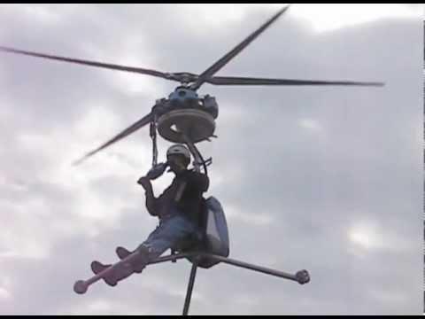Helicoptero de um so lugar