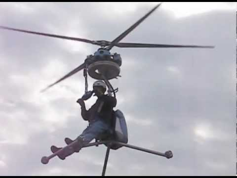 Worlds smallest Oneman Helicopter GEN H4