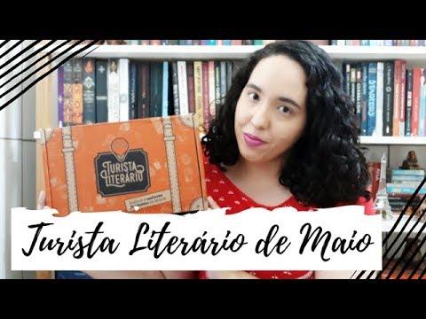 Unboxing Turista Literário de Maio (2019) | Um Livro e Só