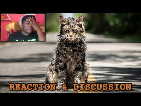 HIDE YOUR PETS!! || Pet Sematary (2019) Trailer Reaction